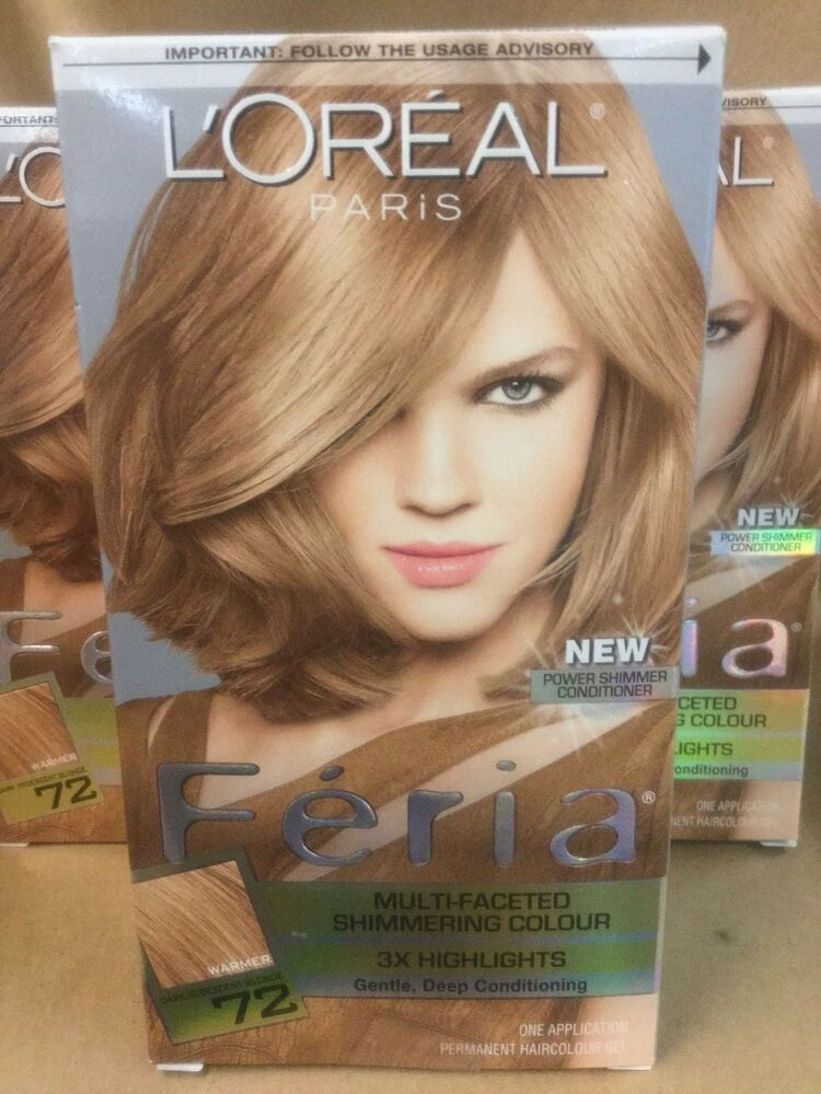 Lot Of 3 L Oreal Feria Multi Faceted Shimmering 3x
