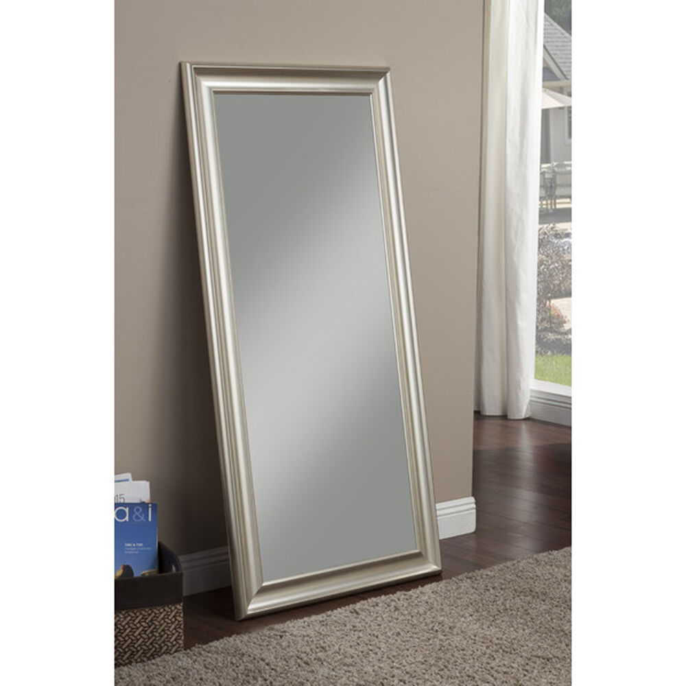 Full length mirror leaning or hang floor dressing leaner for Full length mirror in living room