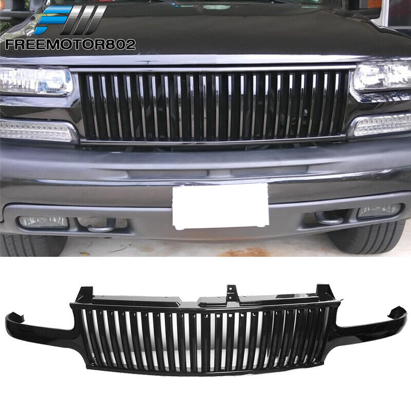 For 99-02 Chevy Silverado 00-06 Tahoe Suburan Black Front ...