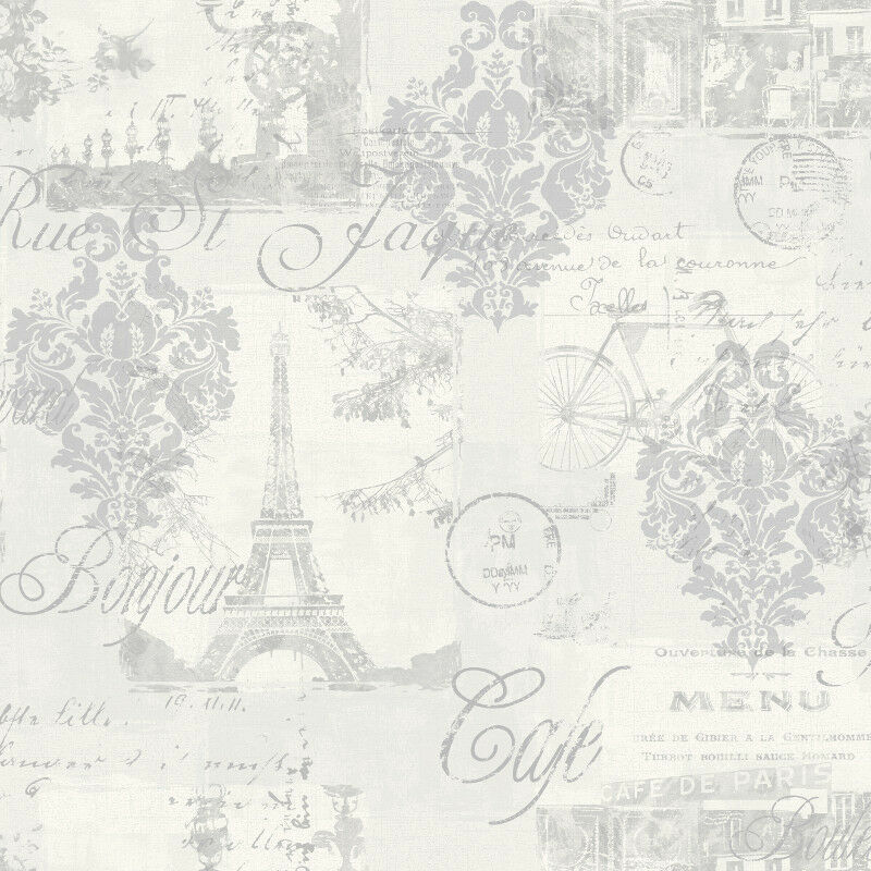 Product Name Arthouse Louvre Shabby Chic Silver Paris French Parisian  Inspired Wallpaper  Arthouse Louvre Shabby. Shabby Chic Bathroom Wallpaper