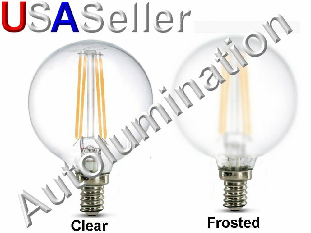 120v Led E12 4w G16 5 Retro Edison Filament Bulb