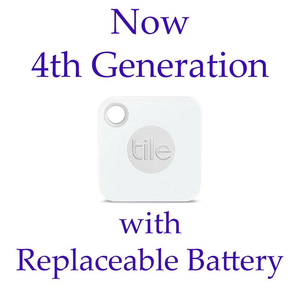 Tile Gps 3rd Gen Bluetooth Tile Mate Mini Tracking Device