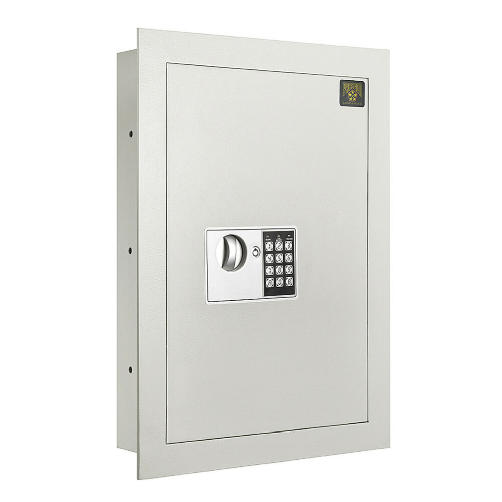 Flat Electronic Wall Safe 83 Cf For Large Jewelry