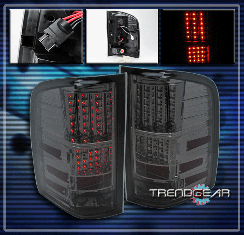 2007 2011 chevy silverado led altezza tail brake light. Black Bedroom Furniture Sets. Home Design Ideas