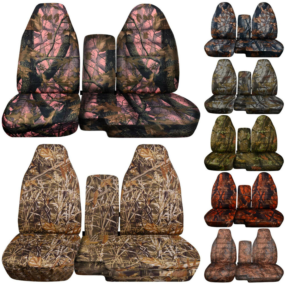 Cc 91 97 Ford Ranger Camo Car Seat Covers 60 40 Or No