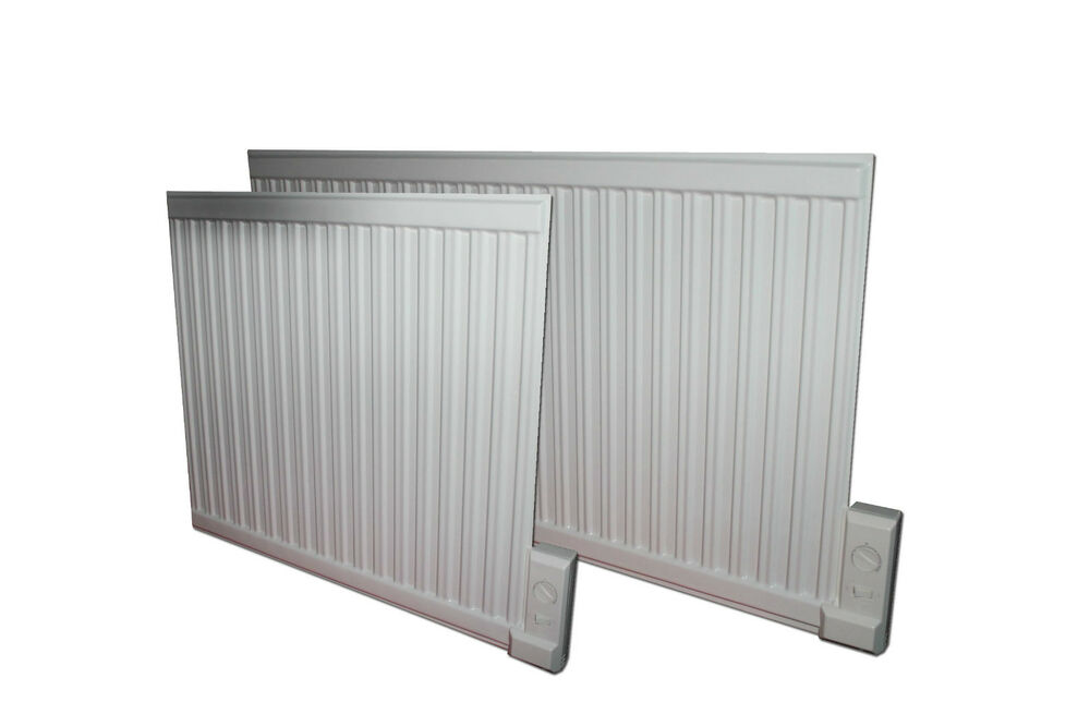 Oil Filled Electric Radiator Heater Wall Mounted Or