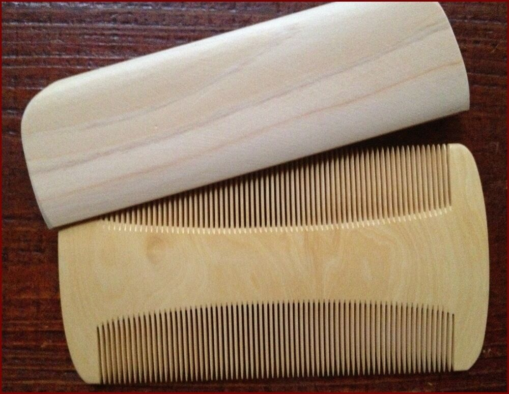 Nihongami Tsuge Wood Comb Sukigushi Type For Cleaning