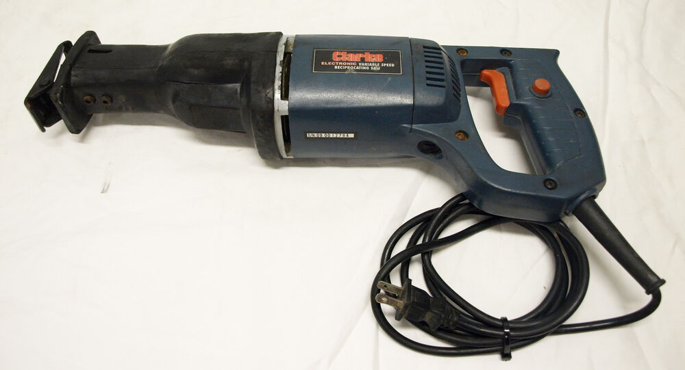 Clarke Ct4008 Electric Variable Speed Reciprocating Saw Ebay