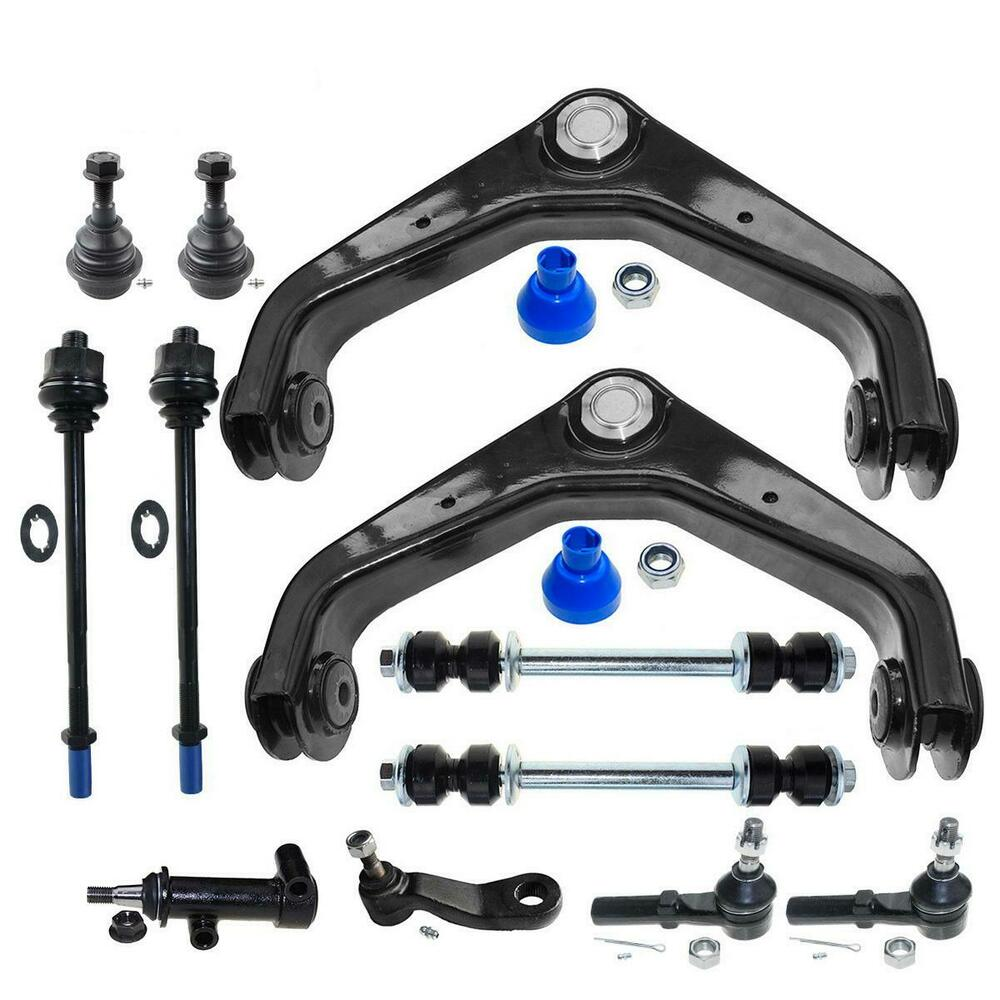 dlz new front suspension kit for 2001 2006 gmc sierra 1500. Black Bedroom Furniture Sets. Home Design Ideas