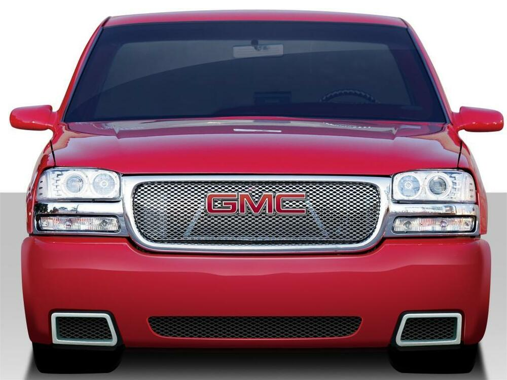 99 06 gmc sierra 00 06 yukon duraflex ss look front bumper. Black Bedroom Furniture Sets. Home Design Ideas
