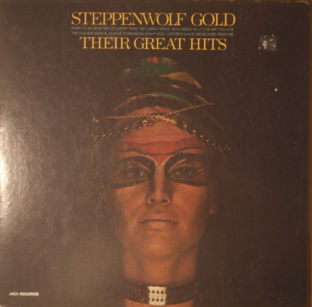 Steppenwolf Gold (Their Great Hits) 1971 Vinyl LP ABC