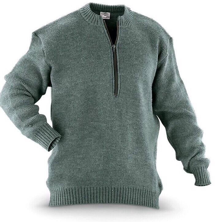 Best 100% soft wool sweater you'll ever wear! Military ...