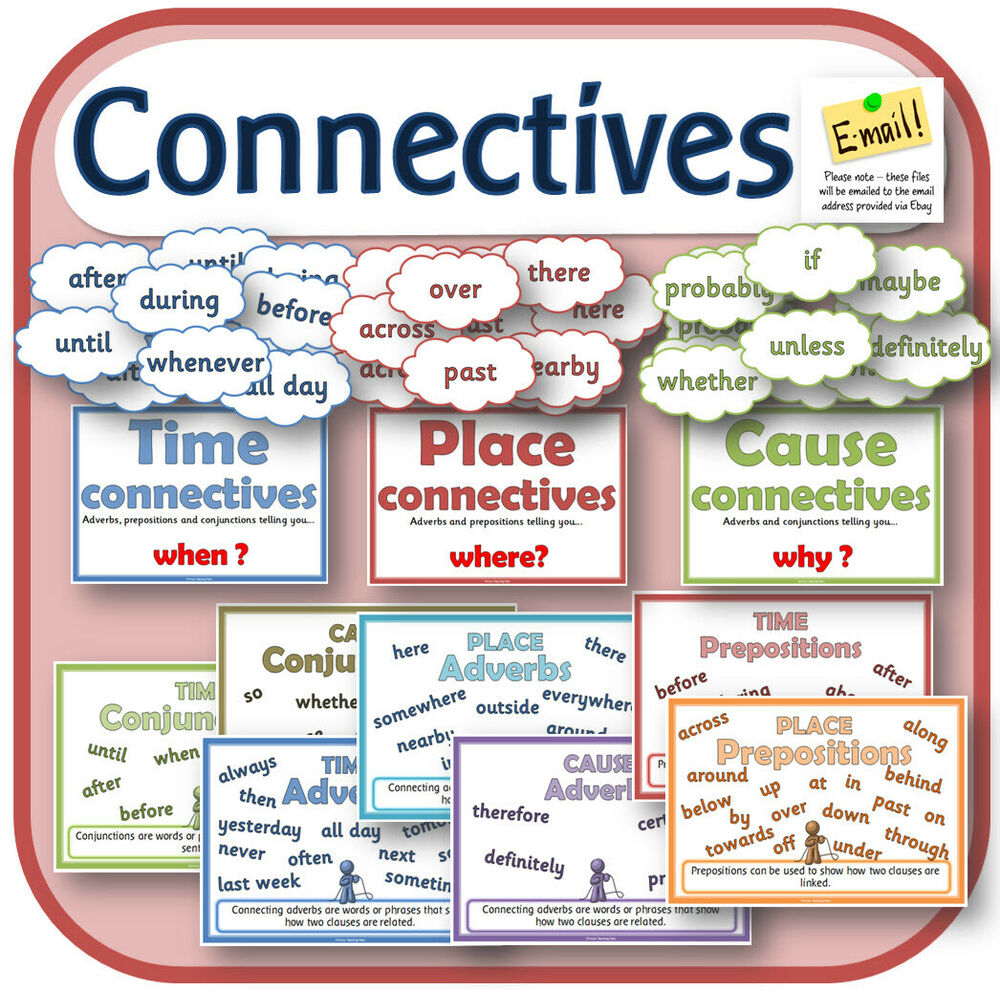 ks2 y3 sentence grammar connectives conjunctions teaching resources spag cd ebay. Black Bedroom Furniture Sets. Home Design Ideas