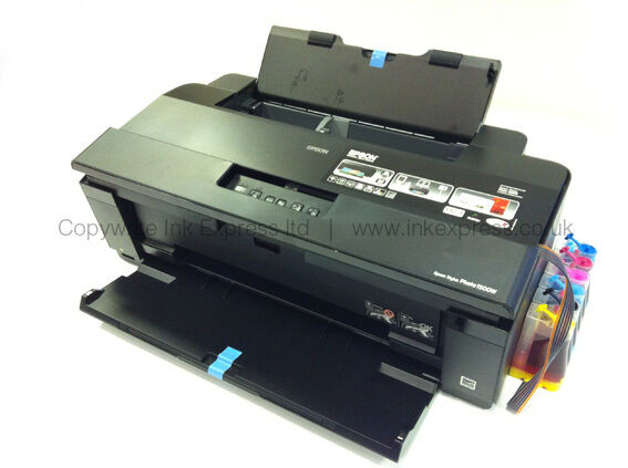 Epson 1500w A3 Photo Printer Continuous Ink System Ciss
