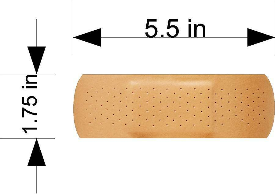 2ea Band Aid For Car Amp Truck Vehicle Scratch Or Dent