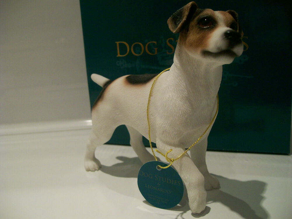 Jack Russell Dog Ornament Gift Figure Figurine New In Box