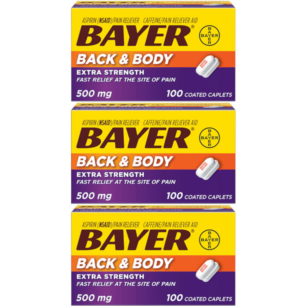 Bayer Back & Body Uses, Side Effects & Warnings - Drugs.com