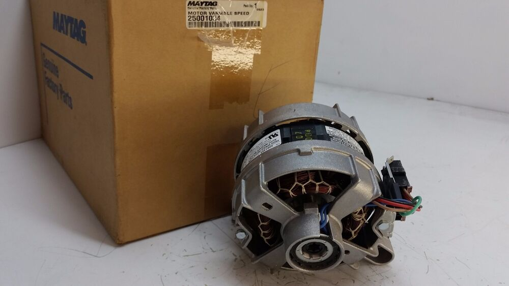 25001034 maytag washer motor new part ebay for Motor for maytag washer