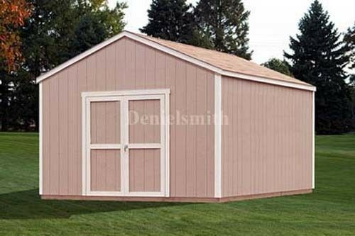 12x16 gable storage shed plans buy it now get it fast ebay for Buy shed plans