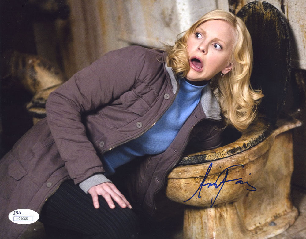 Details about (SSG) Hot & Sexy ANNA FARIS Signed 10X8 Color Photo with JSA  (James Spence) COA