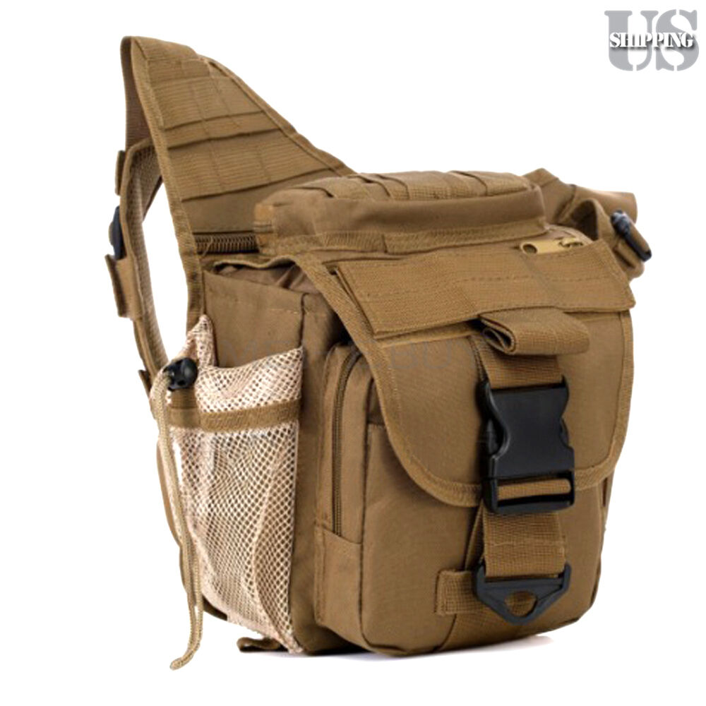 Camera Travel Pouch : Molle tactical dslr camera shoulder pouch waist pack