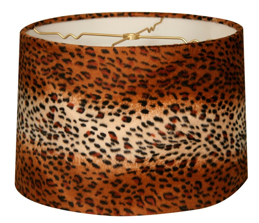 Leopard Animal Print Hardback Lamp Shade Hb 621 Ebay