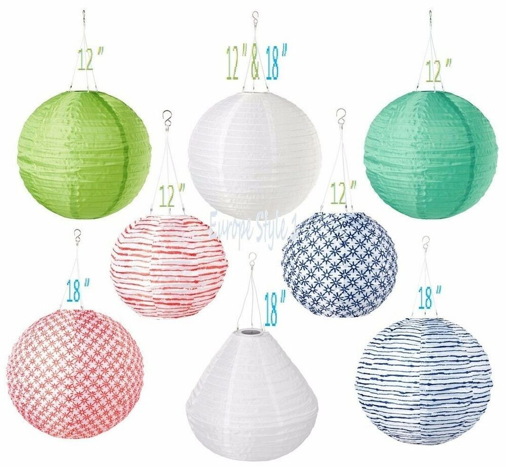 Outdoor Party Lights Ikea: NEW IKEA SOLVINDEN LED SOLAR-POWERED PENDANT LAMP FOR
