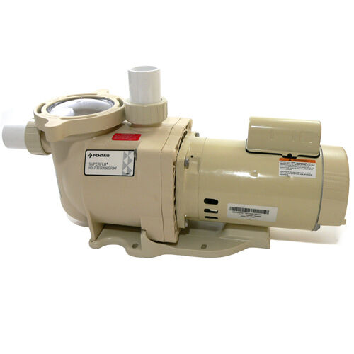 Pentair superflo 2hp 2 hp pool pump replaces hayward super for Hayward 1 1 2 hp pool pump motor