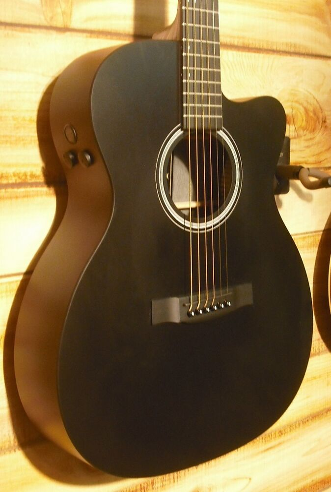 new martin omcpa5 black richlite fingerboard black acoustic electric guitar ebay. Black Bedroom Furniture Sets. Home Design Ideas