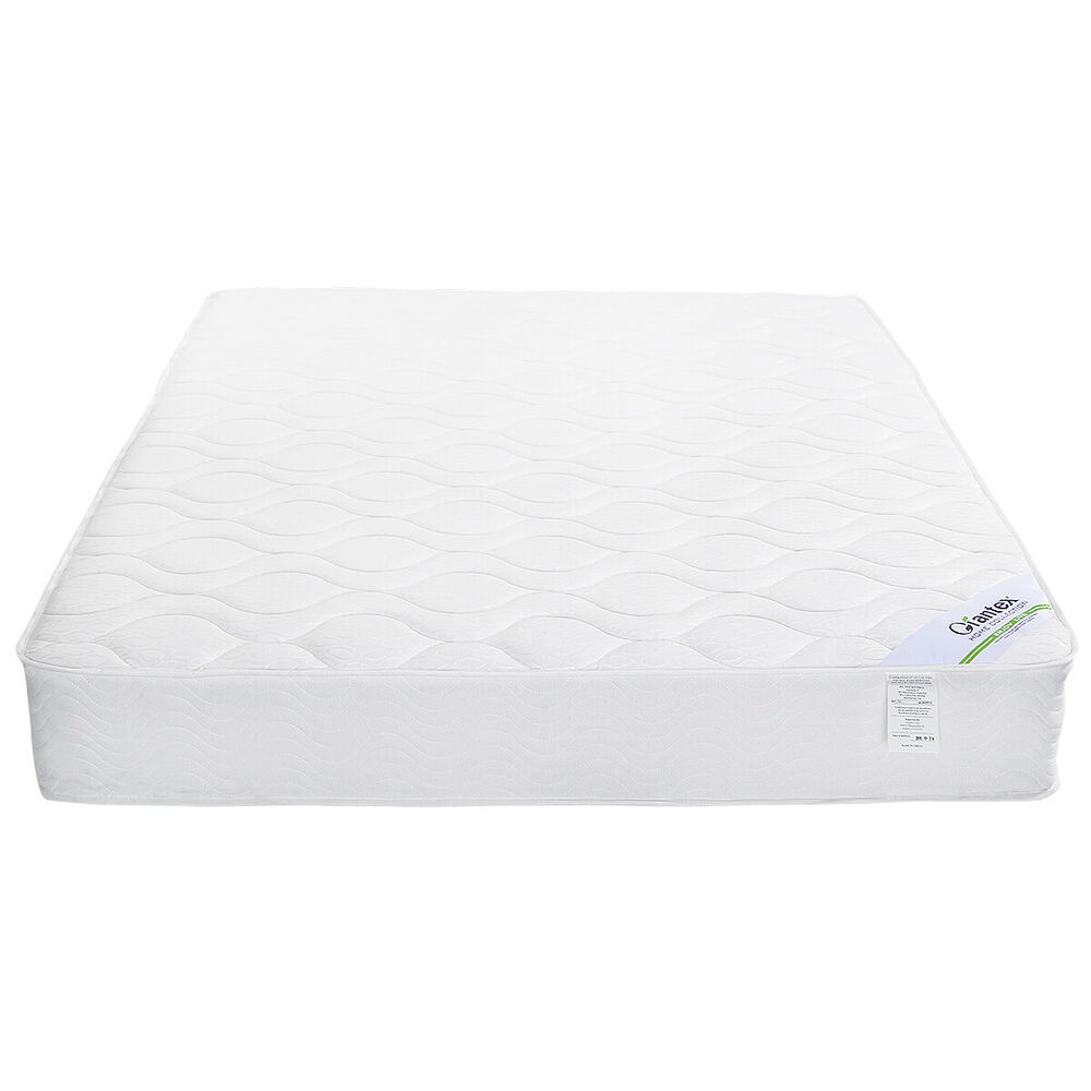 "9"" inch Coil Bed Pocket Spring Mattress Twin Full Queen"