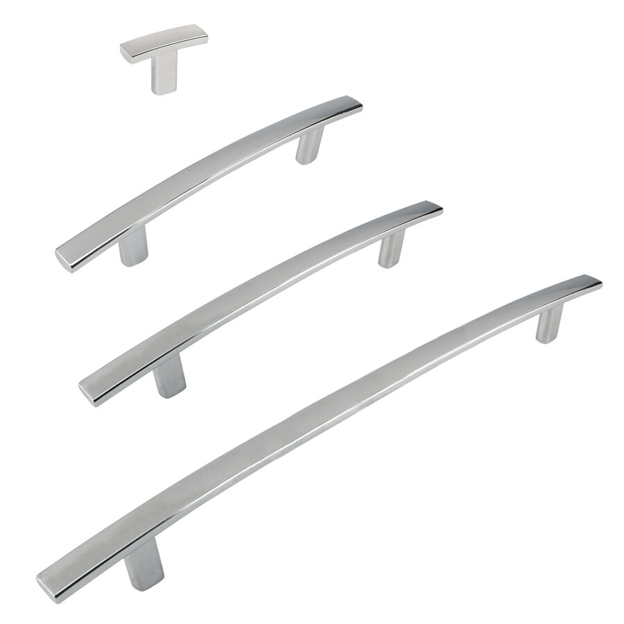 Cosmas 2363 Series Polished Chrome Cabinet Hardware Pulls