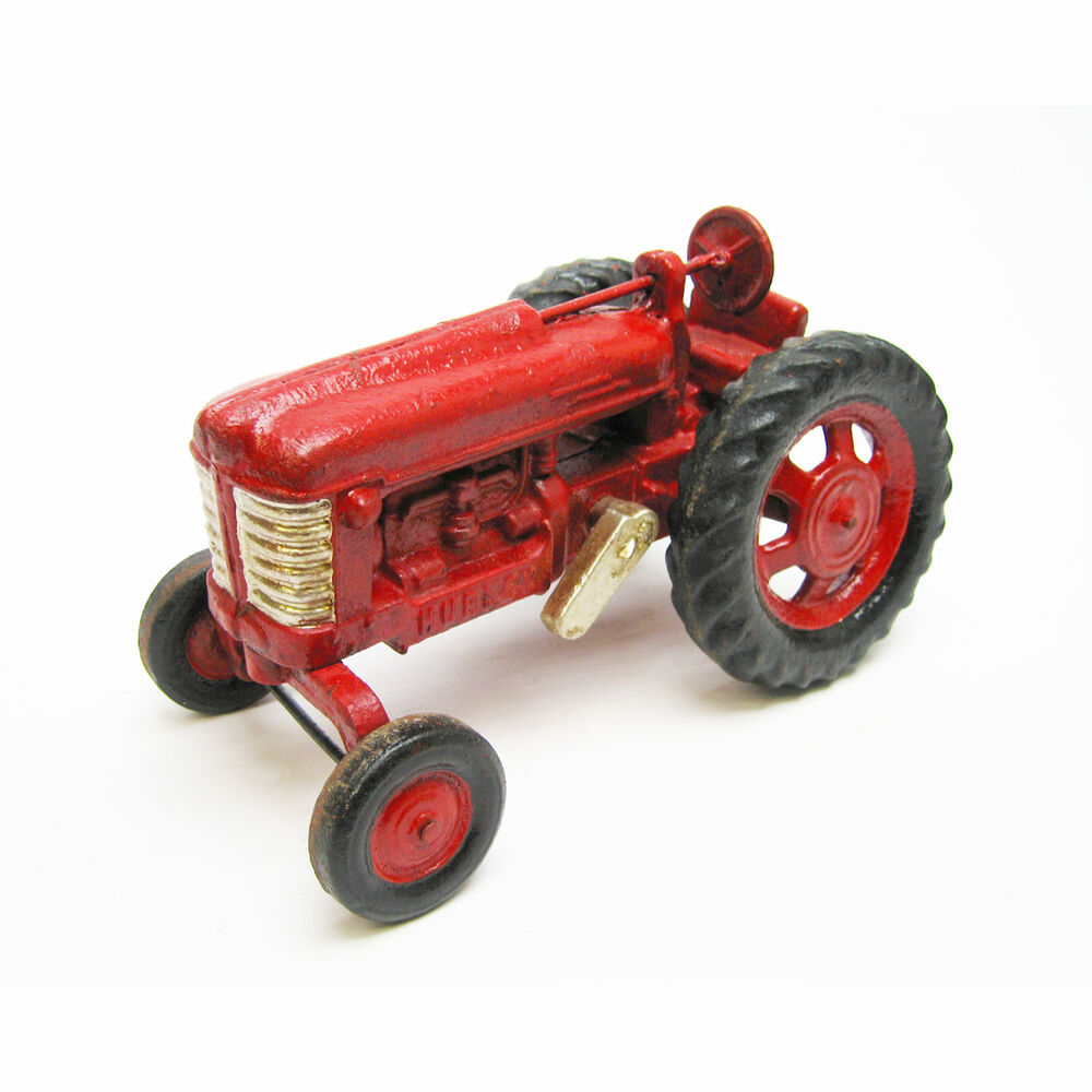 Trat Er Toy : Collectible red hubley working antique replica cast iron