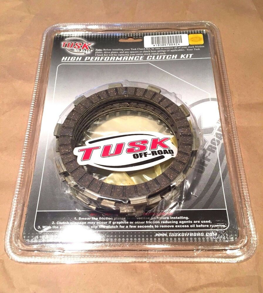 Motorcycle Engine Parts For Honda Xr400 Xr 400 1996 2004: Honda XR400R 1997–2004 Tusk Clutch Steel & Friction Plates
