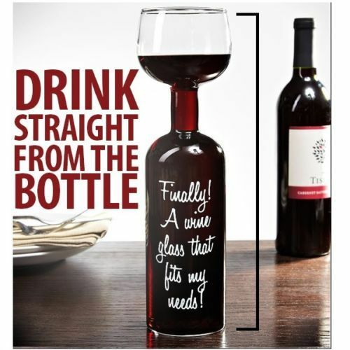 Ultimate Wine Bottle Glass Great Funny Gift Wine Lovers