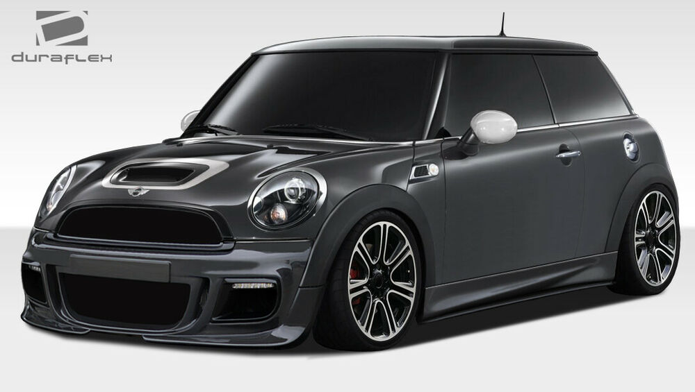 07 13 Mini Cooper Hardtop 12 15 Coupe Roadster Dl R 6pc Body Kit