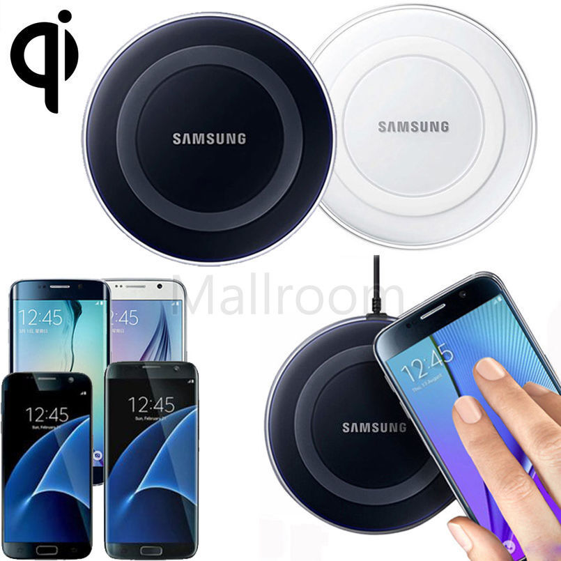 qi wireless ladeger te ladestation for samsung galaxy s7 s6 edge plus note 5 ebay. Black Bedroom Furniture Sets. Home Design Ideas