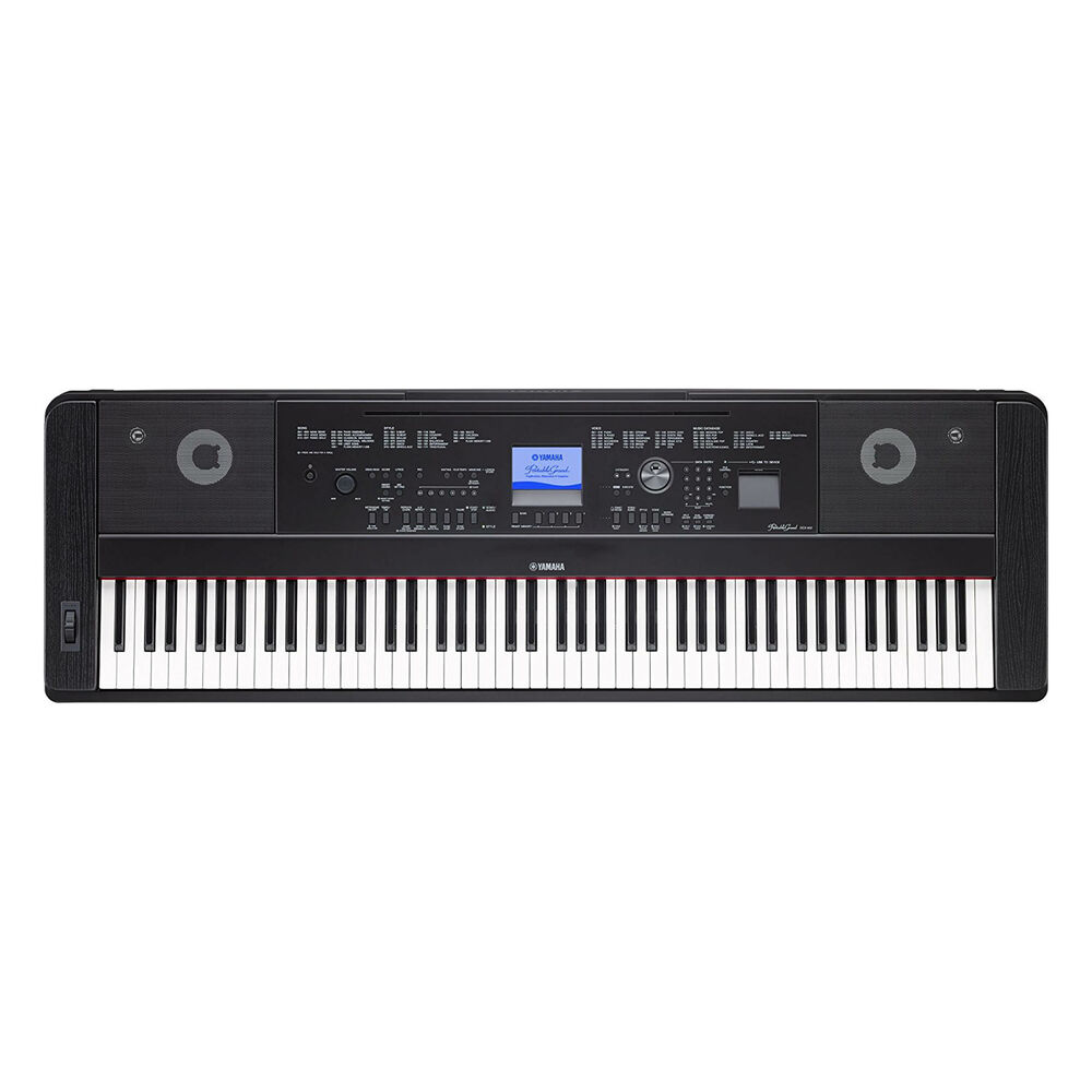 Yamaha Dgx  Portable Grand Digital Piano Black Home Pak