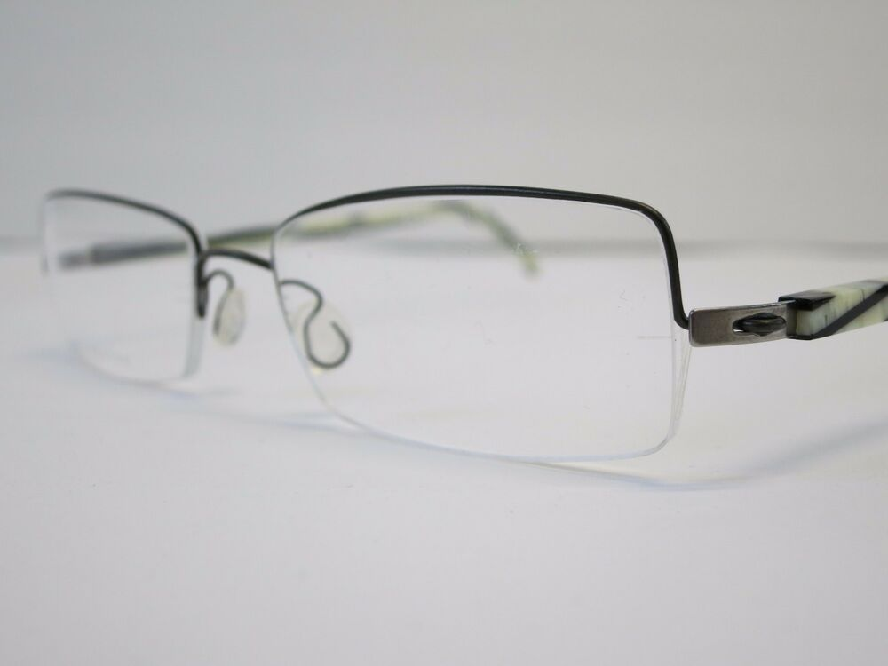 Glasses Frames Lindberg : Lindberg Half Rimmed K40 3012 Zebra Black Optique Glasses ...