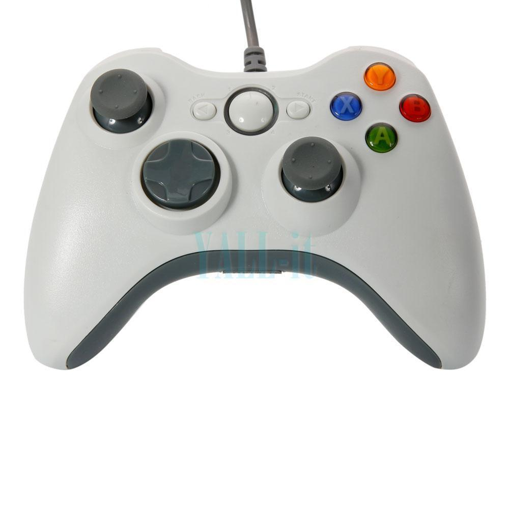 new microsoft xbox 360 wired usb gamepad joypad controller. Black Bedroom Furniture Sets. Home Design Ideas