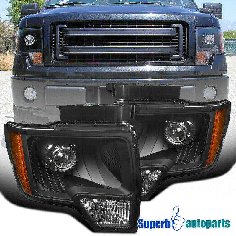 99 F150 Black: New Retrofit Style 2009-2014 Ford F150 Projector