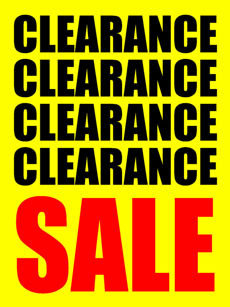 """CLEARANCE SALE 18""""x24"""" BUSINESS STORE RETAIL SIGNS   eBay"""