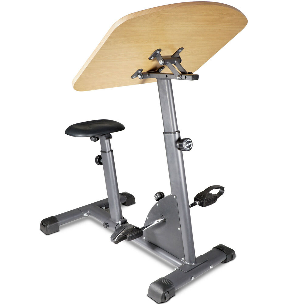 Titan Fitness Cycling Adjustable Standing Exercise Desk