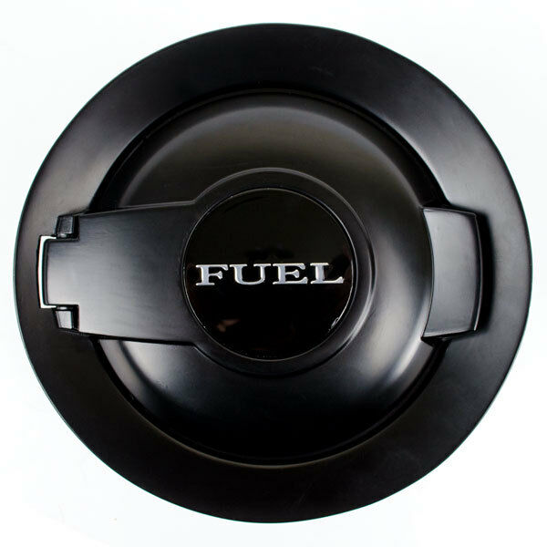 08 16 fuel gas cap door lid cover matte black filler door. Black Bedroom Furniture Sets. Home Design Ideas