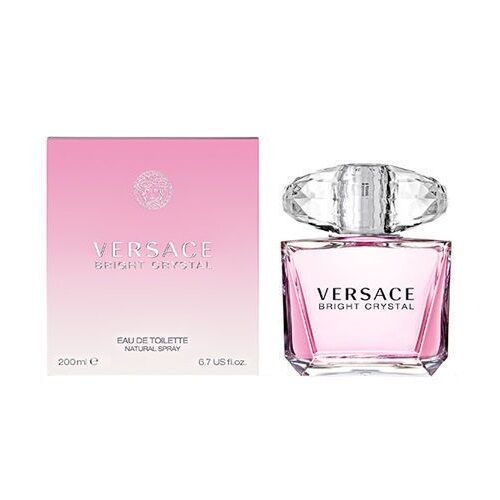 versace bright crystal by versace 6 7 oz edt for women new. Black Bedroom Furniture Sets. Home Design Ideas