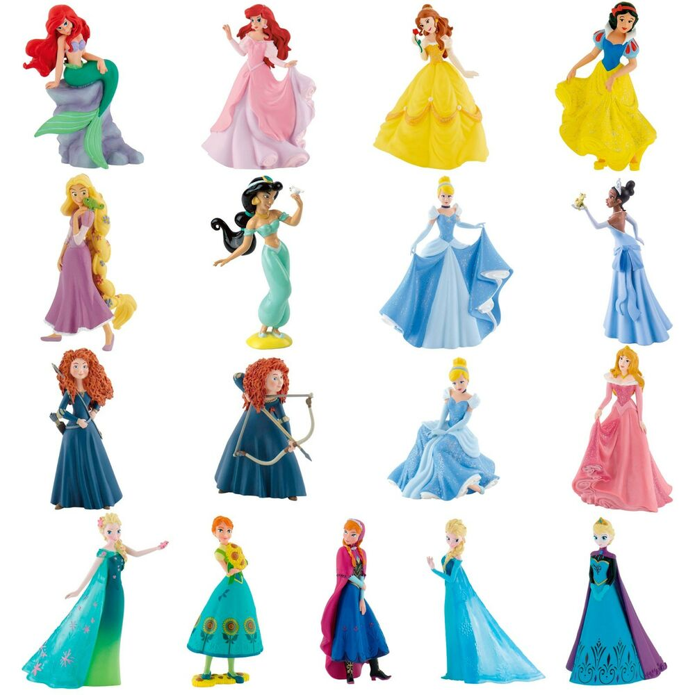 Disney Princess Figures - Cake Topper Decorations ...