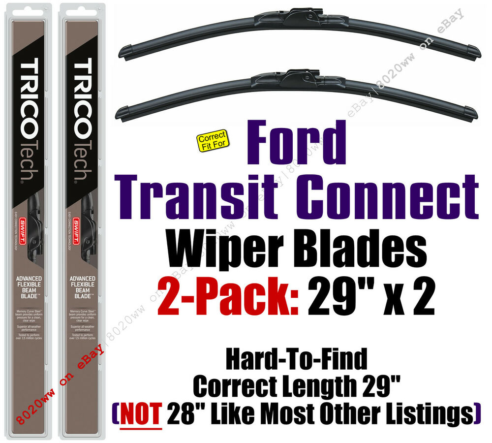 2014+ Ford Transit Connect Wipers 2-Pack
