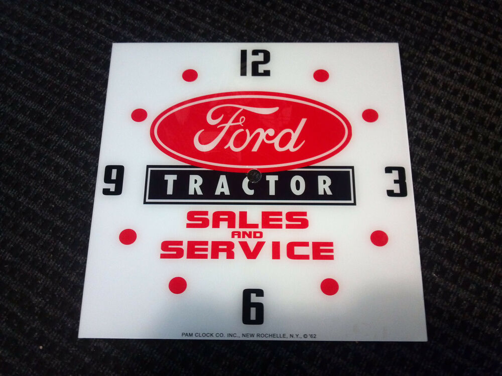 Tractor Glass Replacement : New quot ford tractor glass replacement clock face for