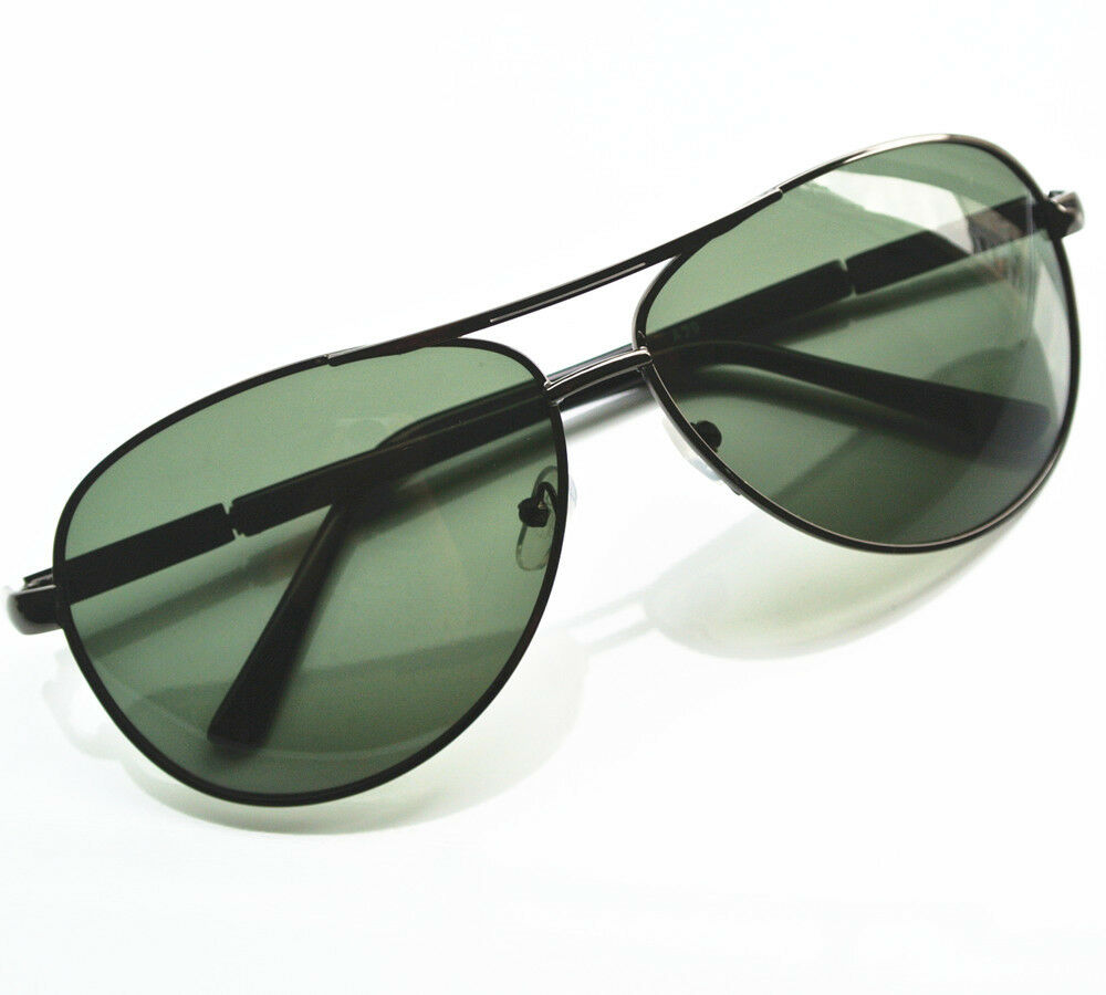 Mens polarized aviator sunglasses driving fishing sun for Mens fishing sunglasses