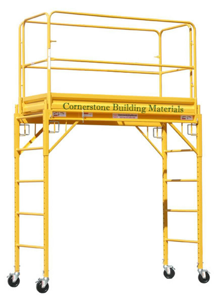 Mfs Scaffold Rolling Tower 29 Quot X 6 Deck 6 Feet High With