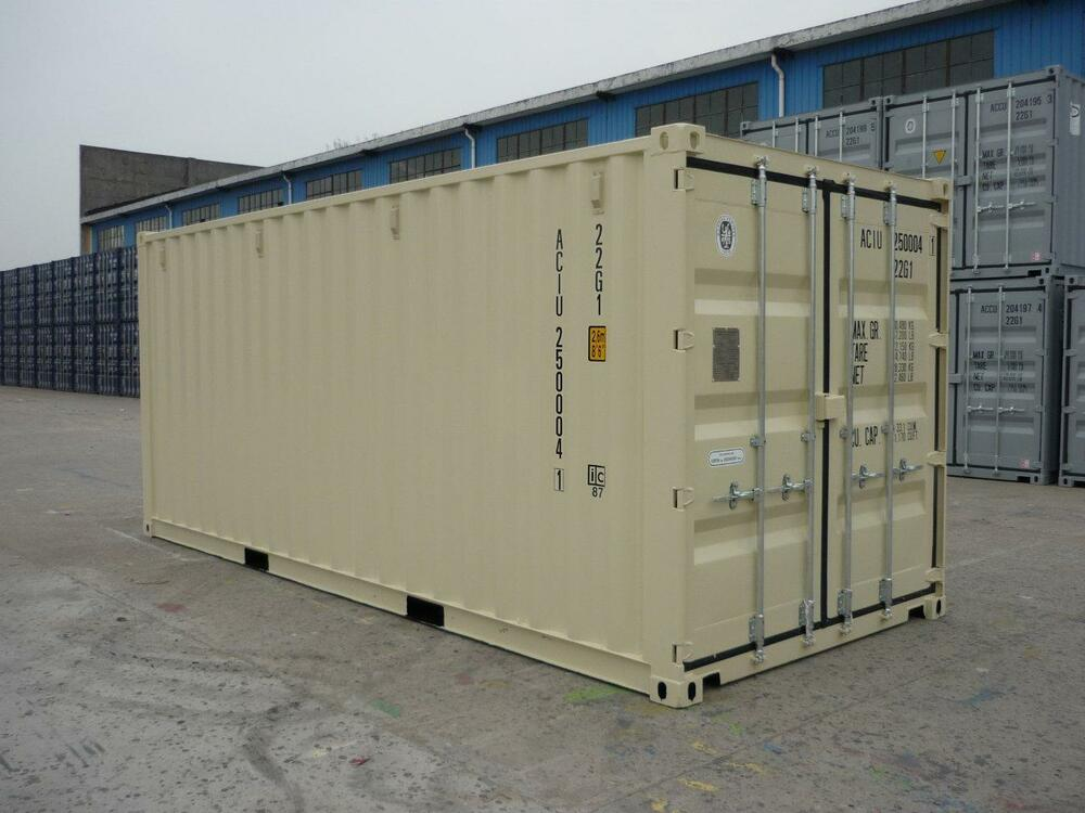 Storage Containers New 20 Cargo Shipping Container Long